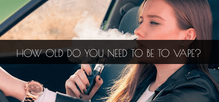 how old do you need to be to vape in the uk