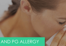 How to prevent PG allergy while vaping