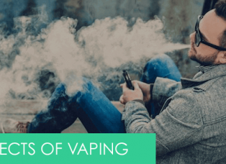 list of most common vaping side effects