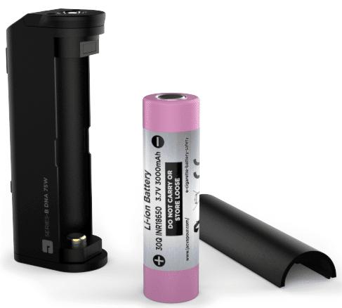 JacVapour SERIES-B DNA 75W Battery