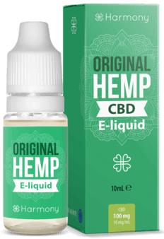 Harmony E-liquid Original Hemp