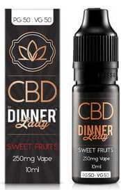 CBD Sweet Fruits Vape E-liquid