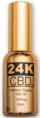 24K CBD PREMIUM ORGANIC HEMP SEED OIL
