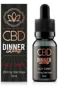 Dinner Lady CBD Jelly Candy Oral Drops