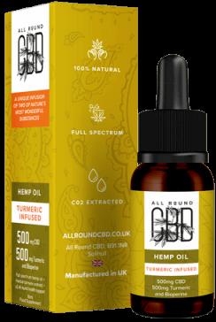 Turmeric Infused CBD Hemp Oil