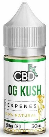 CBDfx OG Kush Terpenes CBD Vape Oil